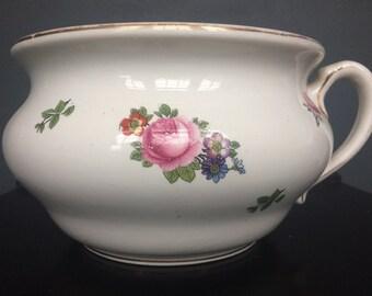 Vintage Planter / Vintage Chamber Pot