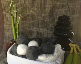 Bamboo-Gray Dryer Balls