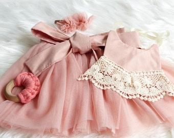 Baby girl/ todler tutu skirt / wrap around/ romper overlay tutu