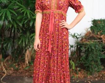 Beautiful Hippie Floral Dress