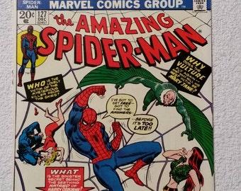 NM! #127 Amazing Spider-Man (1973)