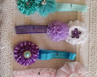 0-6mo Baby Headbands, Reborn Headbands, Baby Gifts, Baby Shower Gifts