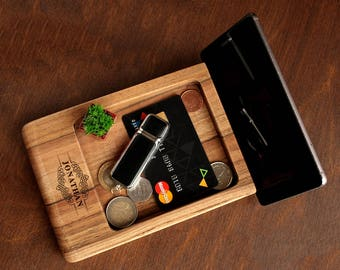 Christmas Gifts for Him, Dad Christmas Gifts, Christmas Gift for Boyfriend, Husband Christmas Gift, Dad Gifts, Wood Docking Station