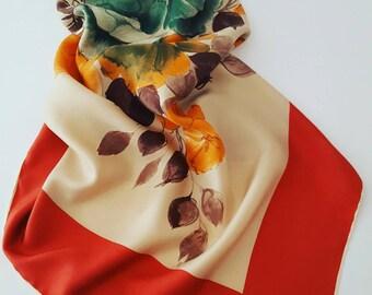 Carven paris vintage scarf