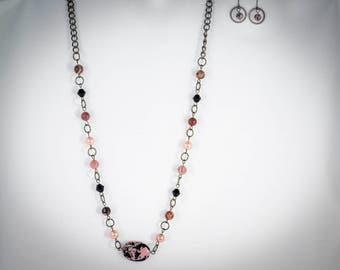 Pinks, Black and Gunmetal - PK17