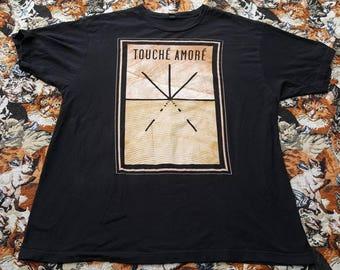Touché Amoré Band Shirt Size XL hardcore