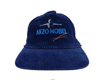 Akzo Nobel Blue Corduroy Snapback Hat