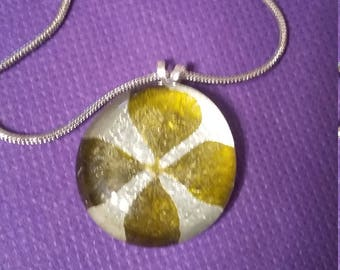 Four Leaf Clover Pendant and Necklace