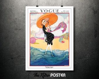 Vogue - Hot Weather Fashions Number - July 1919 - Fashion, Fashion Illustration, Vogue Print, Fashion Poster, Gift Woman, Fashion Print