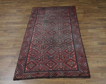 Unique All Over Design S Antique Shiraz Persian Rug Oriental Area Carpet 4'9X9'5