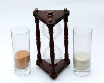 Hourglass, Wedding sand ceremony, Sand ceremony hourglass , Sand clock, Sand timer, Hourglasses, Vintage style interior detail
