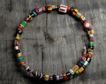 multi earth beaded bracelet