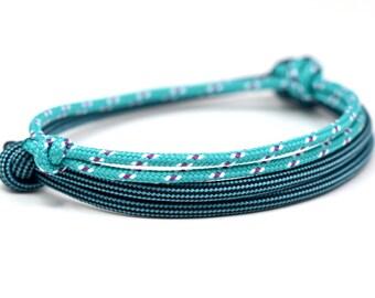 KOMIMAR surfer bracelet SET Caribbean - Friendship Bracelet - birthday - skipper - sail - Beach jewelry - Yachting - bracelet