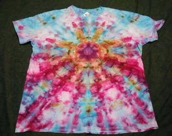 Large Ice Dyed Tie Dye