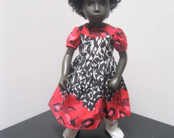 Roses and More dress for 16 inch Sasha Doll