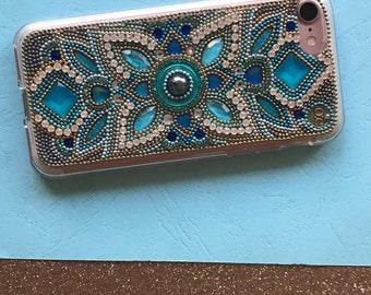 Iphone 7 plus cases chic phone cases iPhone 6 Plus case turquoise phone case luxury phone case samsung galaxy case