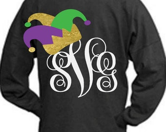 mardi gras svg, Mardi Gras, Jester crown, SVG, DXF, EPS, new orleans cutter file,, jester hat, ...