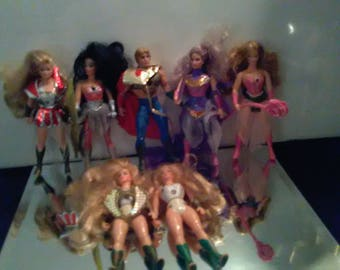 Vintage She-Rah Action Figures With Some Accessories *****************1980's***************