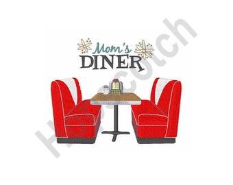 Moms Diner - Machine Embroidery Design