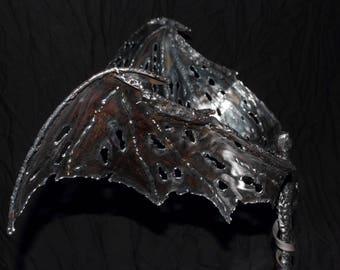 """Steel sculpture """"Fallen"""""""