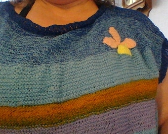 lighter summer sweaters knitted with very thin yarn