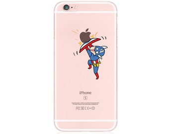 Scared Captain - iphone 6s case, clear iphone 6 case, clear iphone case ,clear - iphone 7s case, clear iphone 7 case, ,clear iphone cases