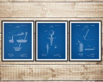Golf Art Poster, Patent Print Group, Golf Wall Print, Golf Art Decor, Vintage Golf Art, Golf Blueprint, Golf Patent Poster, INSTANT DOWNLOAD