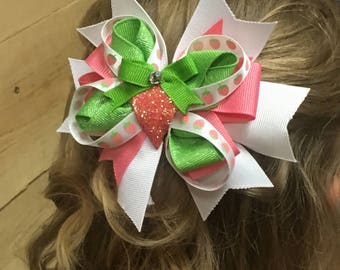 Strawberry Fields Layered Bow