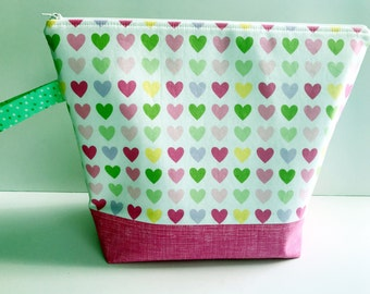 Project Bag for Knitting, Crochet or Embroidery