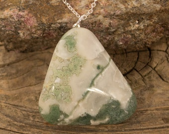 Forest Agate Necklace
