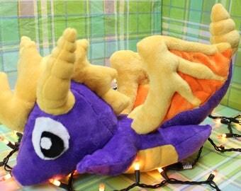 Spyro 90's MINKY plush