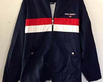 Vintage 90s Polo Sport Jacket/Windbreaker