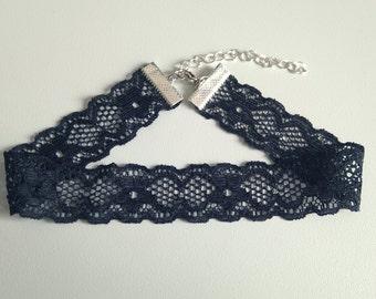 Black Lace Choker | Choker Necklace