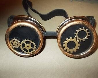 Steampunk Goggles. Originell und Einzigartig