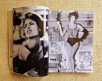Vintage 90's Italian Donna Magazine//90's Italian Fashion Design Resource Magazine