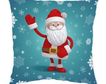 Decorative Christmas pillow Christmas decor Santa Claus Holiday gift 45*45