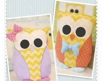 Owliver & Owlivia Whoo-ver Pillow Cover