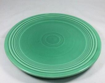 "Genuine Fiesta Green 7"" Cake or Salad Plate"