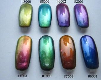 1 g Chrome Mirror effect Chameleon Pigment Powder for Nail art (no nails)