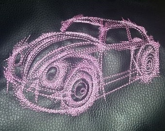 Sotis embroidery file car for the frame size of 13 x 18 cm