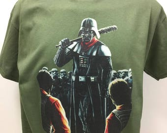 Darth Vader Negan Shirt Walking Dead Shirt Star Wars Shirt