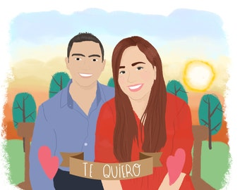 Custom Illustrations / artwork personalized for any occasion