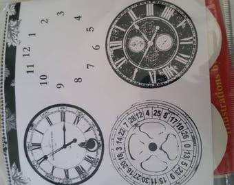 Bline designs clocks faces