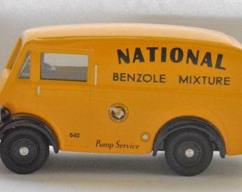"Corgi Morris van in the livery of ""National Benzole"" 1950s"