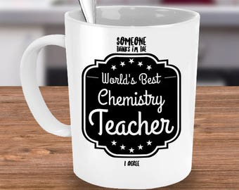 Gift for Chemistry Teacher, Chemistry Gift, Chemistry Mug, Coffee Mug, Tea Cup ~ White Ceramic Mug