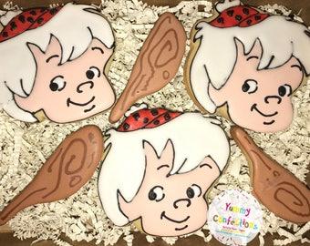 Flintstones BamBam Cookies  - 1 Dozen (12 Cookies)