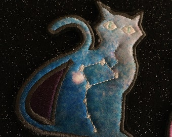 Glow in the dark Cosmic Cats