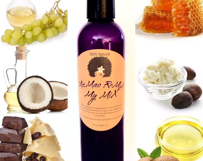 "MY MIX Personalized hair care tailored specifically for your hair. Select ""Ask A Question"" to submit desired ingredients or for assistance."