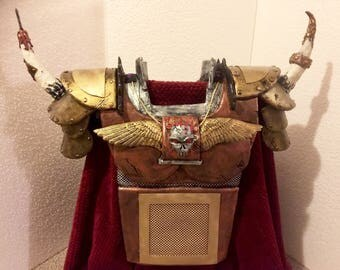 Handmade cosplay body armor