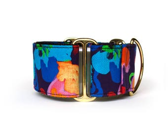 Martingale or Buckle Dog Collar – Bloom